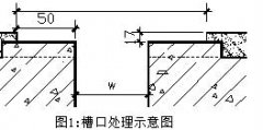 FDM型地坪伸缩缝安装工艺